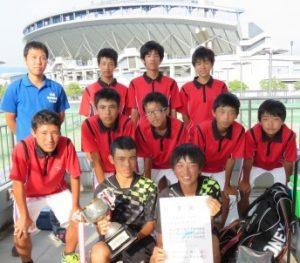 20160726テニス男子準優勝