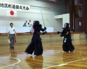 20170827今治地区剣道練成②