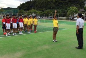 新人テニス⑤