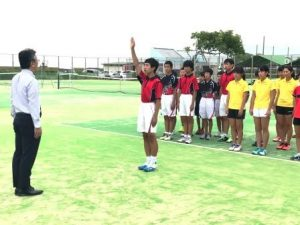 H30市総体(テニス)①