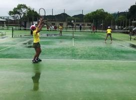 H30市総体(テニス)②