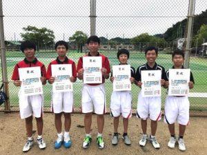 H30市総体(テニス)⑤