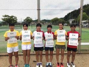 H30市総体(テニス)⑥