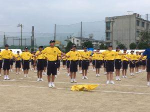 ラジオ体操黄②