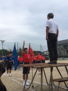 運動会選手宣誓