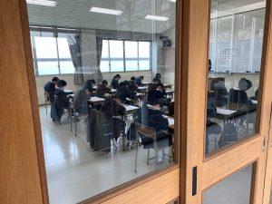 中学入試状況①