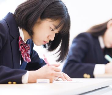 女子生徒素材写真①