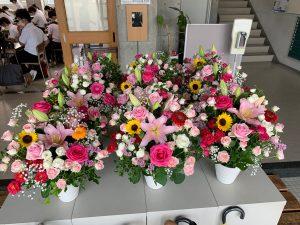 花の寄付(県)②