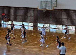 バスケ試合③